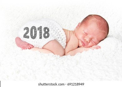 Happy New year 2018 baby