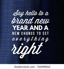 happy new year 2018 quote and saying