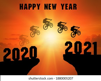 2021 Happy-new-year-2021-silhouette-260nw-1880005207