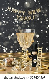 happy new year decoration 2017