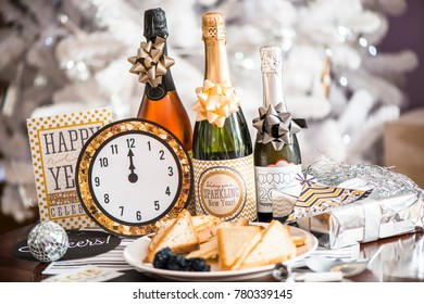 happy new year foods and drinks