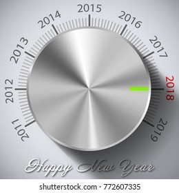 Happy New Year Knop 2018