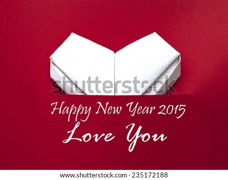 happy new year and love card for mom dad beloved and friend beautiful