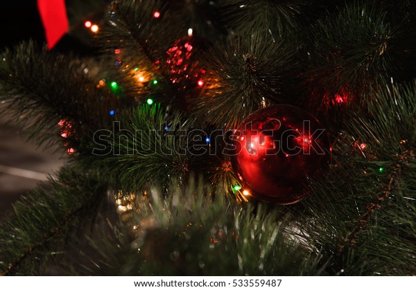 Happy New Year and Merry Christmas decoration card background/texture