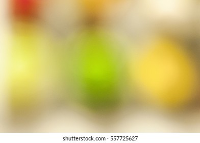 Happy New Year Pic Blurred light Bokeh object Background - image