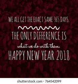 happy new year quote for 2018