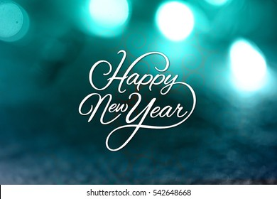 Happy New Year. Vector illustration, 2017,Happy New Year background
