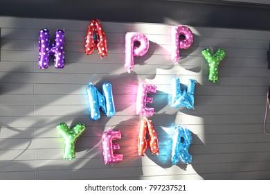happy newyear text