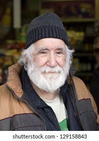 happy old man portrait
