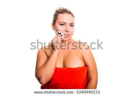 surprise girls Plus size facial