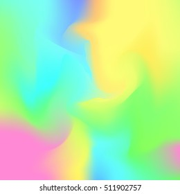 Happy rainbow gradient background, hologram inspired abstract backdrop