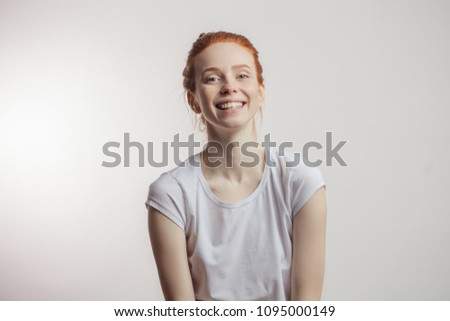 Teenager Rotschopf