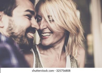 Happy relationship. Love.