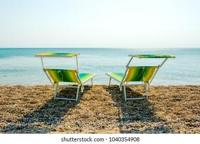 Happy Romantic Couple Enjoying the Beach