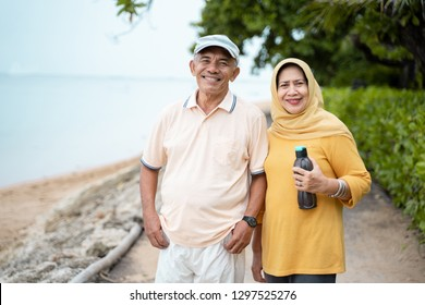 Indonesian mature couple