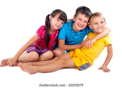 Happy Sister and Brothers