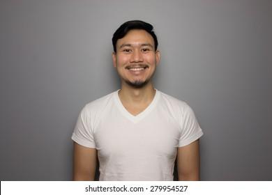 Happy smile man