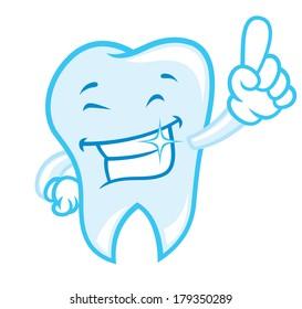 happy teeth cartoon