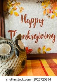 Happy thanksgiving. Orange colour stay in the season.