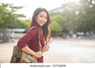 Happy woman student,Education concept