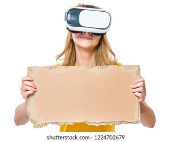 Cardboard Vr Goggles Images, Stock Photos & Vectors