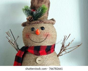 Happy Yarn Snowman