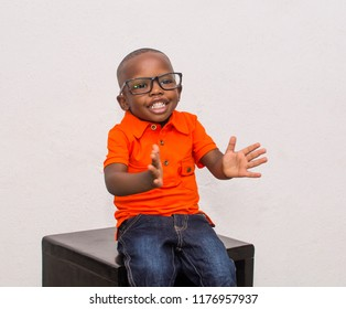 happy young african child