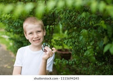 Happy young boy.