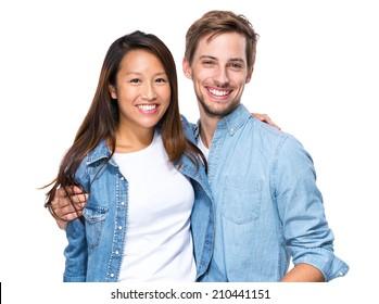 White girl dating chinese guy