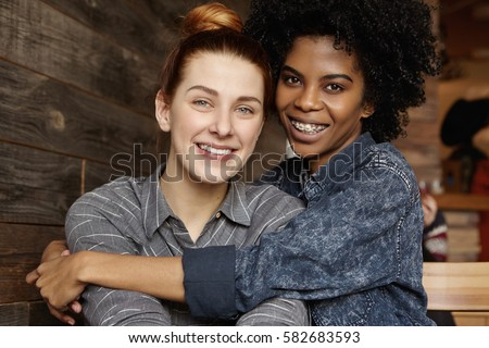 Multiracial lesbians