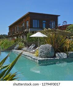 Hapuku Lodge and Tree Houses luxury accommodation near Kaikoura, New Zealand