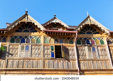 in harar  ethiopia africa  in the  old town the house of   the famous poet
