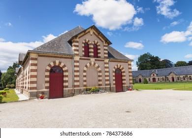 Haras national de Saint Lo, France.