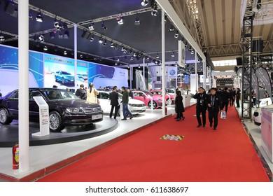 Harbin, China Spring 2017 auto show, Harbin spring auto show, Harbin auto show, March 21, 2017 China Harbin spring auto show.