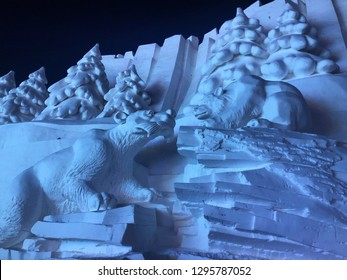 The Harbin International Ice and Snow Sculpture.
