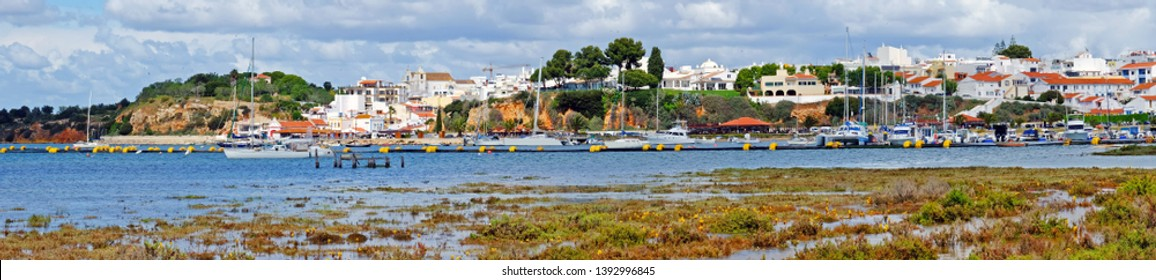 Harbor from Alvor in the Algarve Portugal