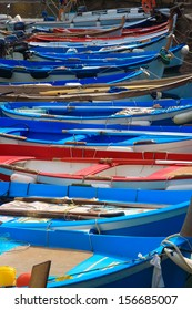 harbor boats touring the National Park 5 terre liguria