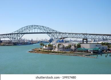 Harbor bridge in Corpus Christi, Texas, USA