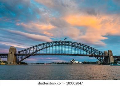 Harbor Bridge,  Sydney Harbor