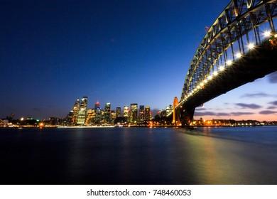 Harbor Bridge, Sydney, New South Wales, Australia