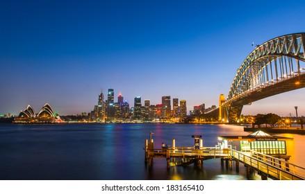 Harbor Bridge, Sydney Opera House, Sydney Harbor