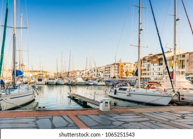 Harbor of Cap d'Agde, France