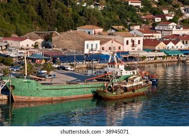 Harbor at Katakolon, Olympia, Greece