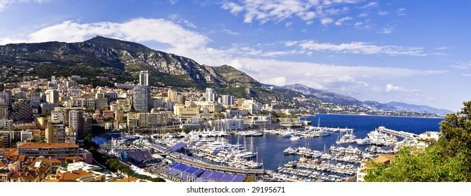 Harbor of la Condamine, Monaco