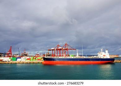 Harbor of Las Palmas, Canary Islands, Spain