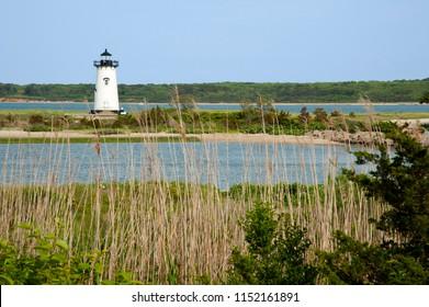 Harbor Lighthouse in Edgartown on Martha's Vineyard