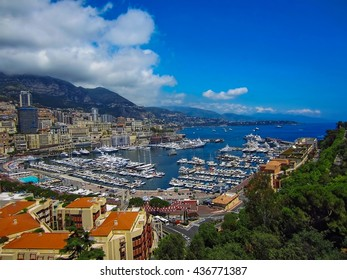 Harbor in Monte Carlo, Monaco