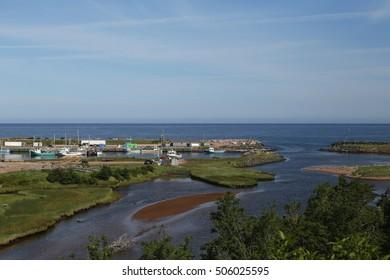 Harbor at Pleasant Bay, Cape Breton Highlands National Park, Nova Scotia, Canada