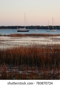 The Harbor River offers a scenic backdrop in in Beaufort, South Carolina.