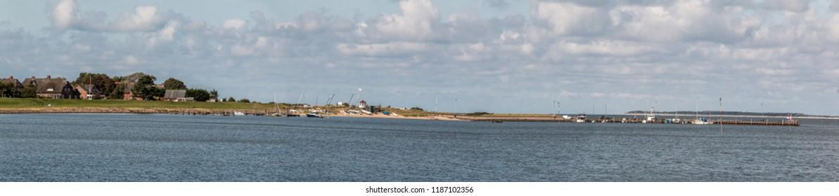 Harbor of Steenode on Amrum